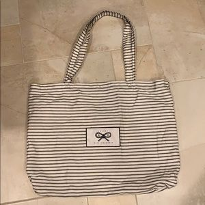 Anya Hindmarch Striped Tote